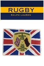 RRL Ralph Lauren Rugby Patch Union Jack 500 mile Racing Club champions Clean