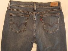 Women's Levi's 505 Straight Leg stretch Size 30W x 32L  (A84)