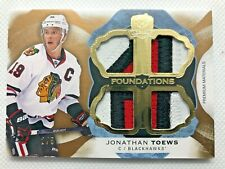 2016-17 The Cup Cup Foundations Patches Jonathan Toews 2/5