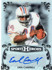 2017 Leaf Sports Heroes Earl Campbell Signature Black 1/3!