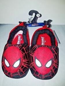 Marvel Spider Man Toddler Slippers Sz 7/8