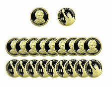 2008 S Andrew Jackson Presidential Dollar Gem Deep Cameo PROOF 20 Coin ROLL