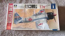 Roshima Zero Fighter Model Kit - Japan Navy A6M2 - 1/72 Scale   (B 20)