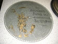 """Boccaccio Marsch Polyphon Platte 39,5cm Spieluhr antique music disc 15 1/2"""""""