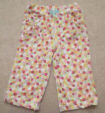 EUC Gymboree Spring Rainbow Flower Knit Pants Size 12-18 12 18 Months