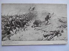 """CPA """"Guerre européenne de 1914 - A la baïonnette"""""""