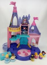 Fisher Price Little People Disney Princess Songs Palace Castle 6 Figs Tiana Snow