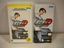 PlayStation Portable - Initial D Street Stage - PSP the Best. JAPAN GAME. 47976