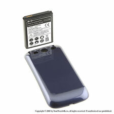 4300mAh Extended Battery for Samsung Galaxy S3 Blue Cover