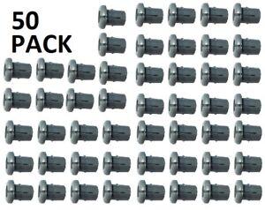 Nylon Grommets (Split) Grey for 3.2mm Stainless Wire Balustrade Kits  - 50 pack