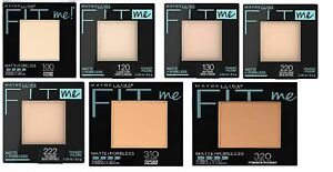 "Maybelline Fit Me Matte + Poreless Powder,"" You Choose Shade"""