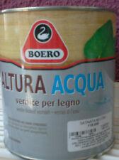 BOERO ALTURA ACQUA PER LEGNO VERNICE PER LEGNO SATINATA/BRILLANTE 750 ML