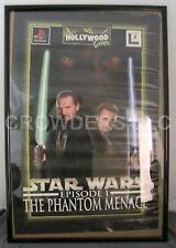 Star Wars Episode 1 Phantom Menace Playstation Video Game Poster 25x35 Games0094