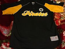 Pittsburgh Pirates Baseball Jersey Black Gold Mlb Genuine Merchandise scan w/ sz