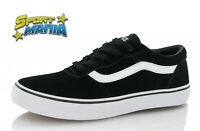 Vans Milton Nero Black Scarpa Bambino Ragazzo Sportiva Sneakers VQGC0XT