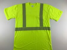 PEPSI Hi Vis Polo Shirt ANSI Class 2 Reflective Safety Colorblock Yellow /& Blue