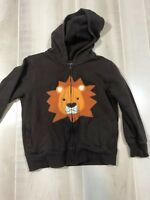 Gymboree Kids Toddler Boys Size 4T 5T Jacket Coat Brown Lion