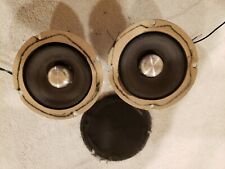 vintage ampex dome mid range speakers