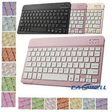 "7 Color Backlit Bluetooth 3.0 Keyboard For Samsung Galaxy Tab A 8.0~10.5"" Tablet"