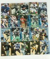 LOT OF 20 1990 Action Packed All Madden And 1993 HI PRO CARDS