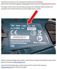 MOTORE Bosch GSR 12 ve-2 HDI 220 GSB 12 ve-2 2607022863 (2607022096)