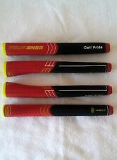 (1pc) Putter Grip Golf Pride Tour SNSR Contour 140cc Red Oversize Putter Grip