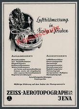 Zeiss-aerotopograph fuerza aérea aire imagen medición fotogrametria óptica Jena 1941