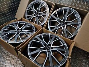 "Genuine OEM Audi Q2 Q3 SQ3 Vorsprung S Line 20"" Alloy Wheels Quattro A3 5x112"