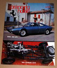 Prancing Horse Magazine #38 1974 1st Q Ferrari Club of America