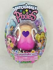 """Hatchimals - Pixies 2.5"""" Collectible Doll and Accessories Glittering Garden Pink"""