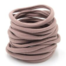10pcs NUDE Nylon Headband-Soft-Thin-Stretchy-one size Fit All Children AU Seller