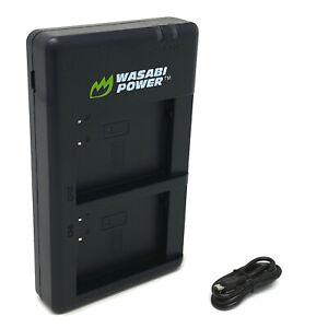 Wasabi Power Micro USB Dual Battery Charger for Nikon EN-EL23