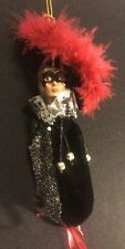 Katherine's Collection Wayne Kleski Retired Masquerade Candy Bag Ornament Silver