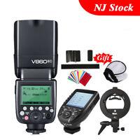Godox V860II-C Camera Flash Speedlite Xpro-C Trigger Bowen Bracket F Canon 750D