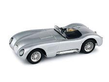 Jaguar C Type Stradale 1953 Silver 1:43 Model R360-02 BRUMM