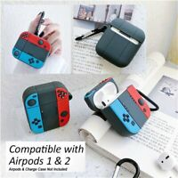 For Nintendo Switch Apple Airpods 1 2 Silicone Protective Cover Case Sleeve Skin