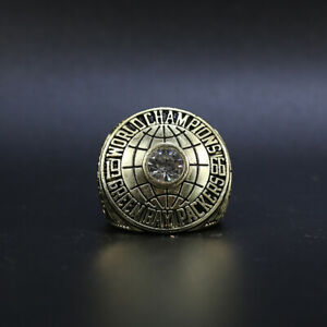 Bart Starr - Green Bay Packers 1966 Super Bowl Championship Ring With Wooden Box