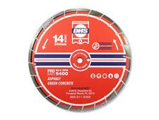 "14"" DHS Pro Series Premium Diamond Blade - Asphalt and Green Concrete"