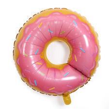 XL Helium Folienballon Donut Süßigkeit Stand Deko Pink Feier Geburtstag Jubiläum