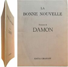 La bonne nouvelle 1987 peinture Hubert Damon galerie Katia Granoff Von Balthasar