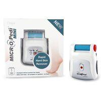 Nuevo Emjoi Micro Pedi Mini Portátil Pedicura Pies Durezas en la Piel Extracción