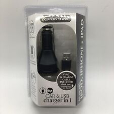 Wireless Gear Car & USB charger in 1 iPOD, iPHONE, & iPAD