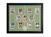 Soccer Display Board: Trading Card Sports Field Frame 18x22