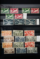 French Colonial 1800's to 1900's Stamp Collection