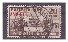 TRIESTE A - 1950 FIERA DI MILANO USATO