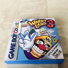 Caja (Repro) Wario Land 3 (Game Boy Color)