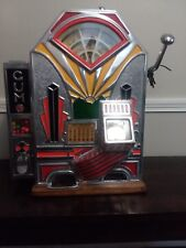 ANTIQUE ''LITTLE DUKE'' 1 CENT SLOT/GUM MACHINE- O.D. JENNINGS & CO.- 1920-1935