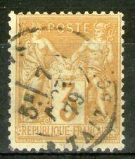 FRANCE:  n°86 oblitéré  (cote 60€)