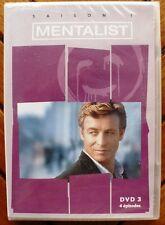 The Mentalist S1 - DVD 3 (4 episodes) NEUF - VERSION FRANÇAISE