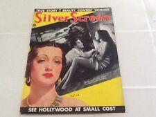 1938 Silver Screen Shirley Temple Norma Shearer Myrna Loy Fashion Gossip